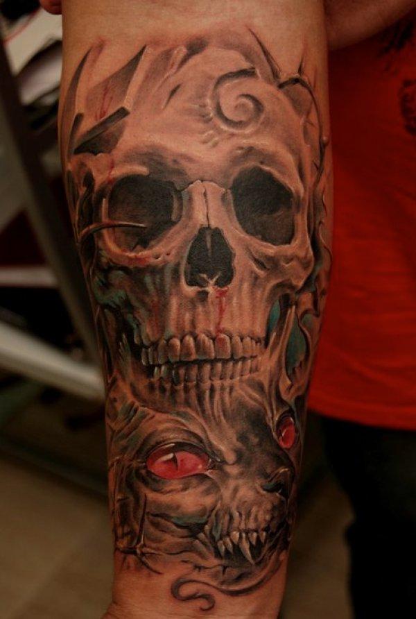 男生手臂纹身图案欣赏