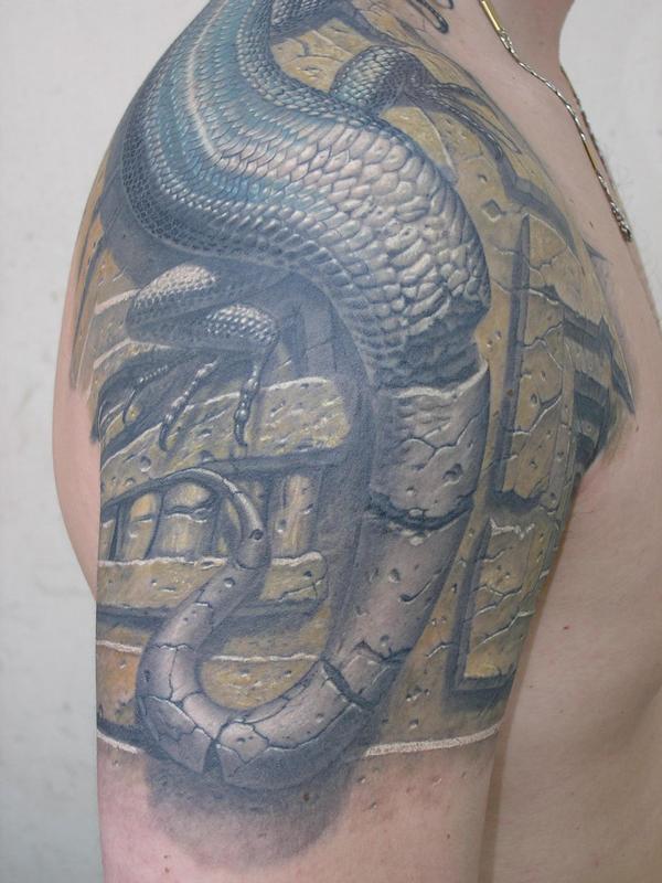 手臂纹身图案欣赏